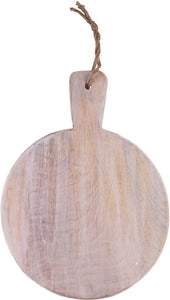 MANGO WOOD CUTTING BOARD - ROUND