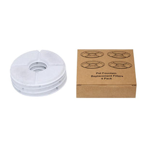 OnePaw™ - Hydration Fountain Replacement Filters (4 Pack)