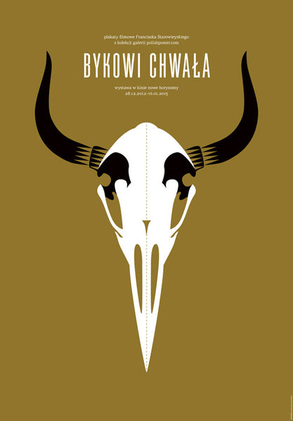 2012 Original Polish Film Poster, Bykowi Chwala - Gorska and Skakun