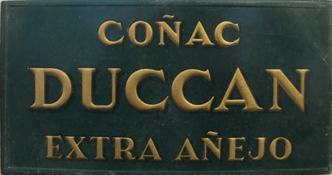 1900s Original Spanish Carton, Conac Duccan Advertisement