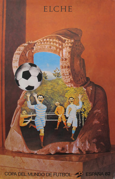 1982 Soccer World Cup Poster, Elche