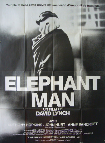 1980 Original French Film Poster, Elephant Man