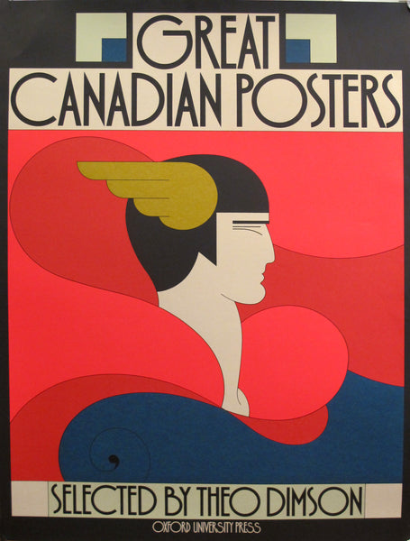 1979 Original Canadian Poster - Great Canadian Posters (Poster of Book Cover)