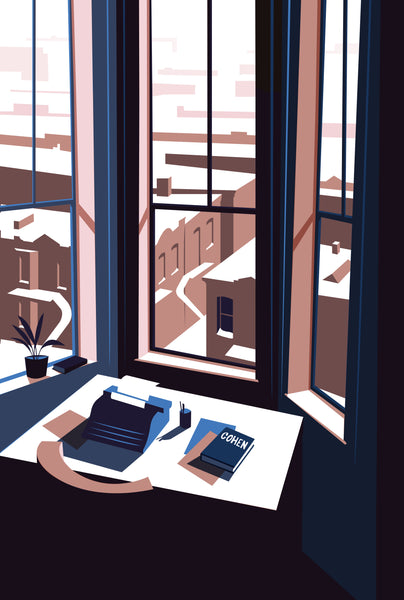 2019 Contemporary Travel Poster - Pascal Blanchet - Winter