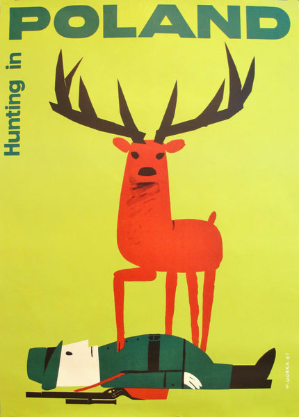 2013 Polish Promotional Poster, Hunting in Poland