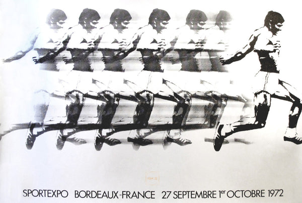 1972 Original French SportExpo Poster