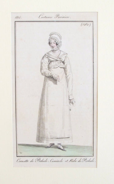 1815 Costumes Parisien, Parisian Ladies Fashion Plate