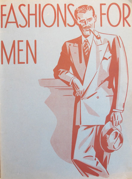 1940's Original Men's Fashion Catalog - Anonymous