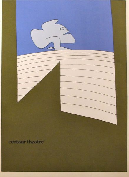 1973 Set of 4 Original Theatre Posters, Centaur Theatre