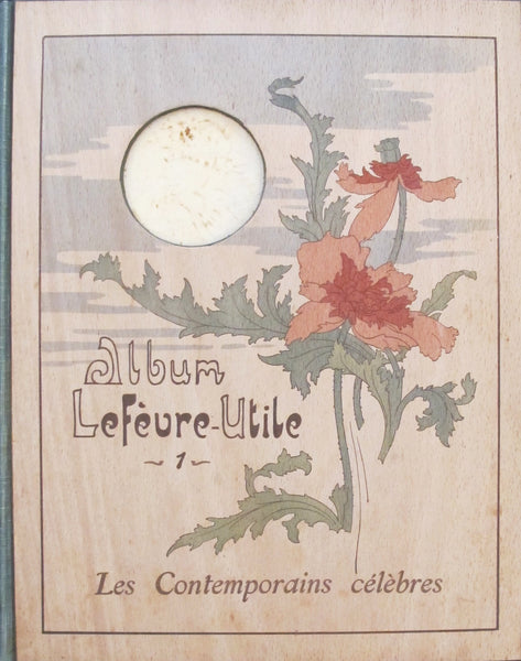 1904 Biscuit Lefevre-Utile Volume, Contemporains Celebres