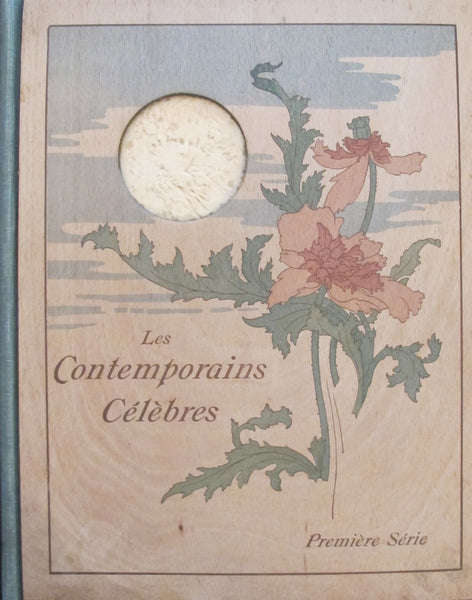 1904 Biscuit Lefevre-Utile Volume, Contemporains Celebres (with Cappiello plates)
