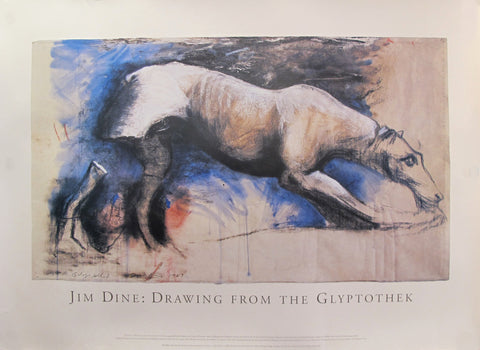 1993 Exhibition poster - Jim Dine: Drawing from the Glyptothek