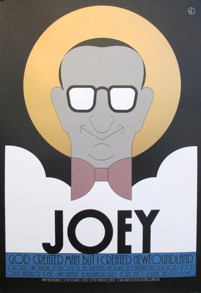 1980s Original Canadian Poster - Joey by Theo Dimson