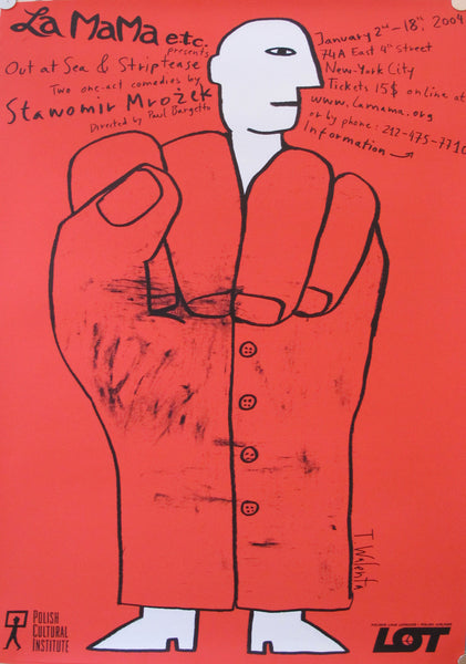 "2004, Contemporary Poster ""La Mama, etc."""