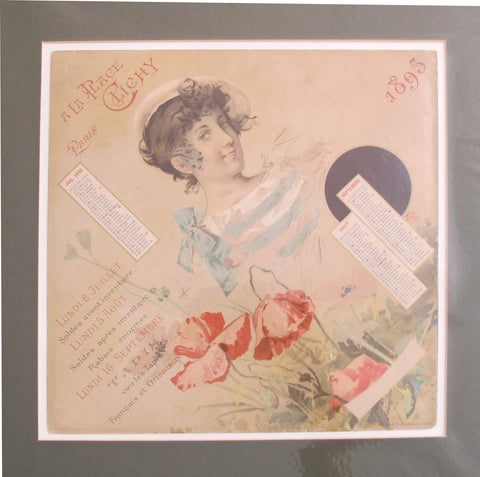 1895 Original French Art Nouveau Poster - À La Place Clichy - Manuel Orazi (Set of 4)