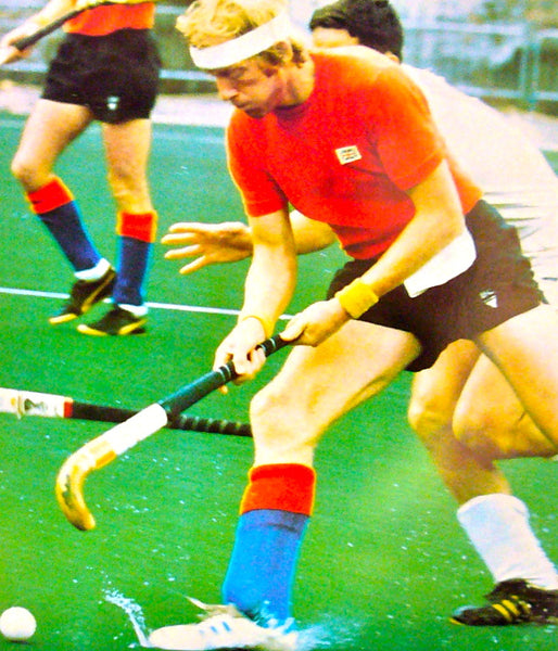 1976 Montreal Olympics Poster, Double Field Hockey/Cycling - COJO