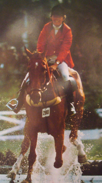 1976 Montreal Olympics Poster, Double Equestrian/Athletics - COJO