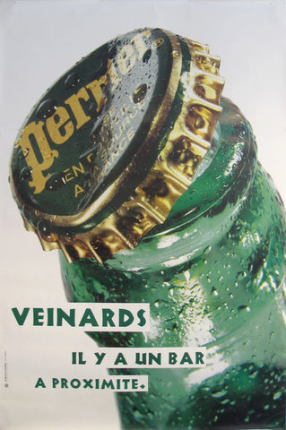 1990s French Perrier Advertisement, Veinards Il y a un bar à proximité