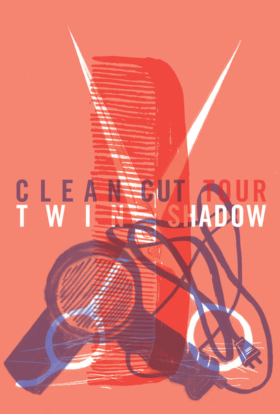 2011 Contemporary Music Poster, Clean Cut Tour Twin Shadow