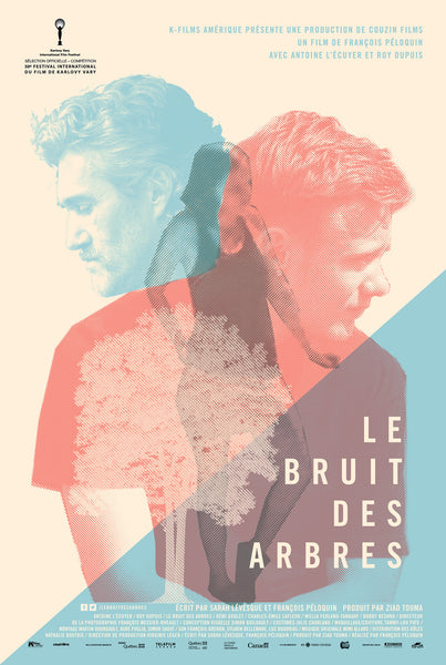 2015 Contemporary Movie Poster - Le Bruit des Arbres, film by Francois Peloquin