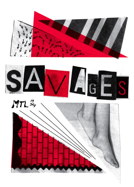 2013 Contemporary Music Poster, Savages