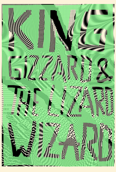 2018 Contemporary Music Poster, King Gizzard and the Lizard Wizard