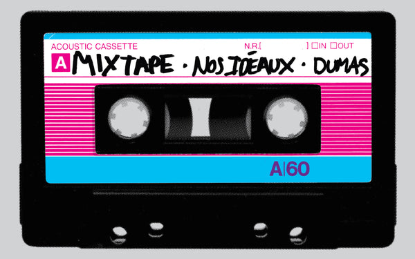 2018 Contemporary Music Poster, Dumas Mixtape (neon)