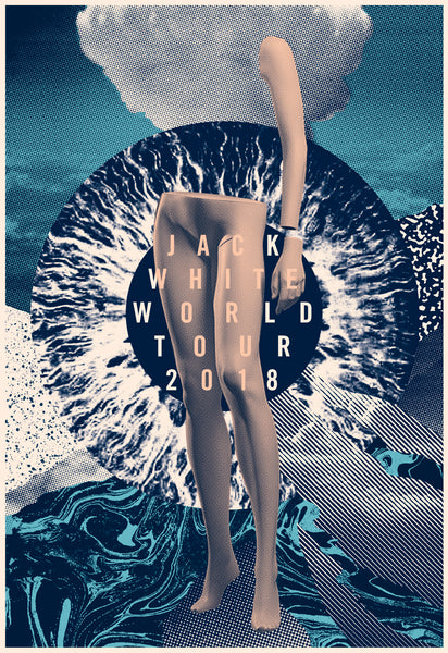 2018 Contemporary Music Poster - Jack White World Tour