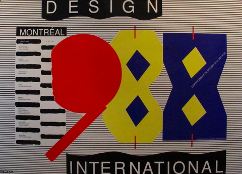 1988 Design International UQAM (Horizontal)- Alfred Halasa