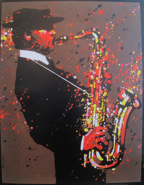2015 (Re-issue) Polish Jazz Poster, Swierzy, Lester Young