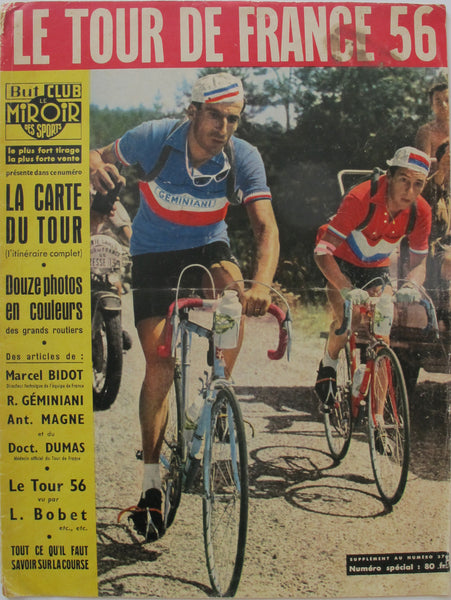 1956 French Tour de France Magazine