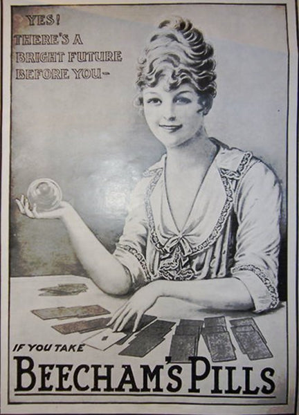 1916-1918 Beecham Pills, Set of Two Ads - Illustrated London News