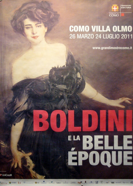 2011 Contemporary Exhibition Poster, Boldini E La Belle Epoque, Como (small) - Boldini (after)
