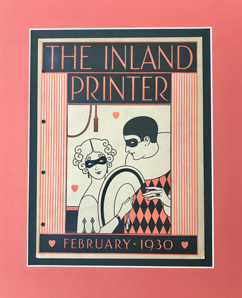 1930 Vintage American Mini Poster - Valentine's Day, 1930