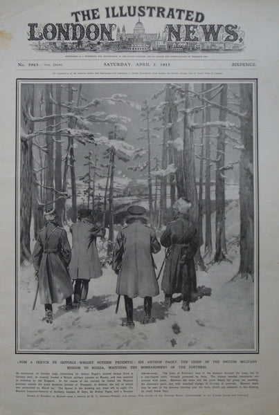 1915 Original Fully Copy The Illustrated London News, April 3