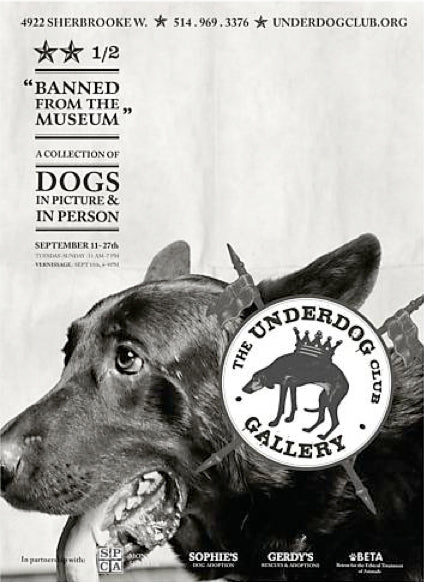 2014 Contemporary Montreal Poster, Underdog: Elliot - Breslaw
