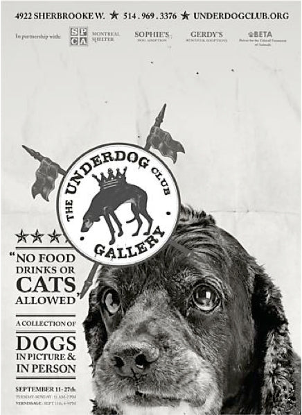 2014 Contemporary Montreal Poster, Underdog: Shiloh Large - Breslaw