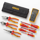 Fluke 117 Electrician's Multimeter + Insulated Hand Tools Starter Kit IB117K