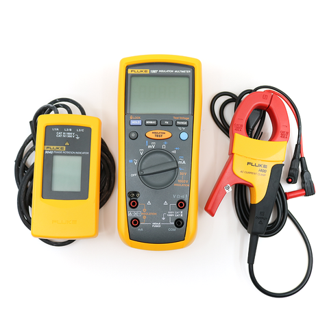 [Ex Demo] Fluke 1587 MDT: Advanced Motor and Drive Troubleshooting Kit