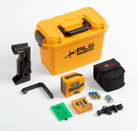 PLS 180 Green Cross Line Laser Level System