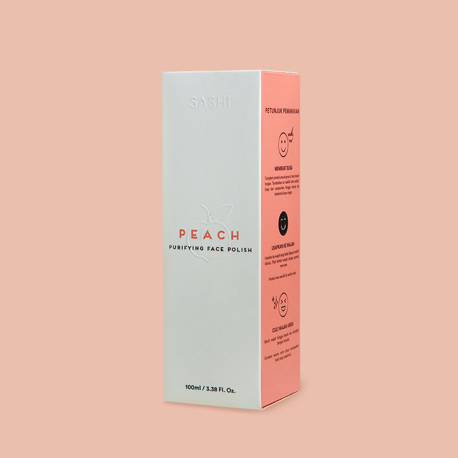 Peach Purifying Face Polish