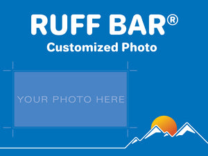 RUFF BARS with customized photo