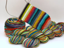 Load image into Gallery viewer, Socktober v.2.0 - 20 Stripe Self Striping, Ready To Ship