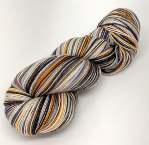 Heirloom Pumpkin - 10 Stripe Self Striping, Ready To Ship