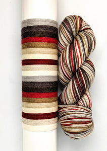 Hot Cocoa - 10 Stripe Self Striping, Ready To Ship