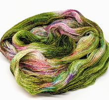 Load image into Gallery viewer, Field of Flowers- Variegate, Shimmer Yarn, Hand Dyed Fingering/Sock Yarn