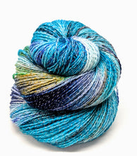 Load image into Gallery viewer, Ether- Variegate, Shimmer Yarn, Hand Dyed Fingering/Sock Yarn