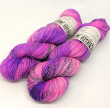 Load image into Gallery viewer, Popping- Variegate, Sparkle Yarn, Hand Dyed Fingering/Sock Yarn
