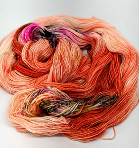 Good Vibes- Variegate, 100% Super Wash Merino Yarn, Hand Dyed Fingering/Sock Yarn