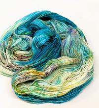 Load image into Gallery viewer, Surf- Variegate, 100% Super Wash Merino Yarn, Hand Dyed Fingering/Sock Yarn